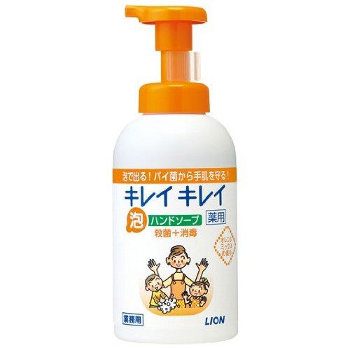 キレイキレイ薬用泡ハンドソープ オレンジミックスの香り 550ml×12入