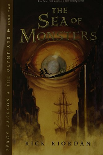 The Sea Of Monsters (Percy Jackson And The Olympians, Book 2) front-1005944