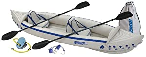 Sea Eagle SE370 Inflatable Kayak with Pro Package from Sea Eagle