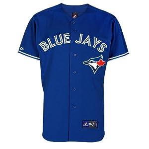 MLB Youth Toronto Blue Jays Royal Alternate Replica Baseball Jersey by Majestic