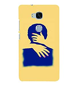 PrintVisa Hot & Sexy Couple 3D Hard Polycarbonate Designer Back Case Cover for Huawei Honor 5X