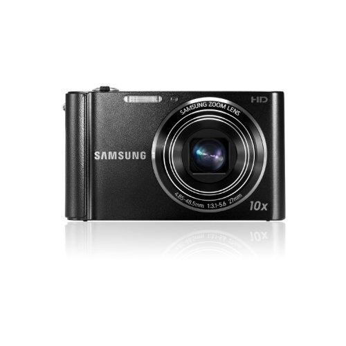 Samsung ST200 Non Wi-Fi Compact Camera - Black (16MP, 10x Optical Zoom) 3 inch LCD Screen