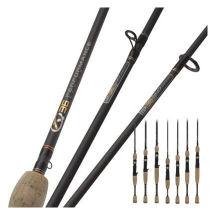 Quantum Qx24 Cast Rod (1Piece), 6-Feet 6-Inch, Medium Heavy