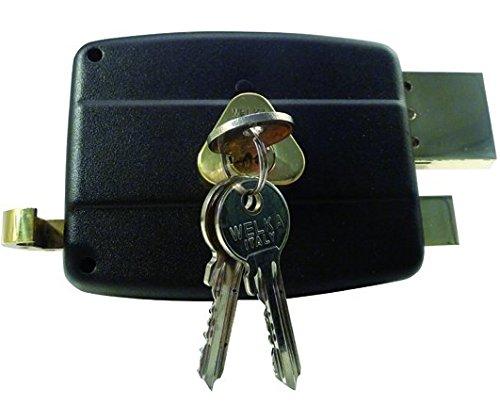 Welka 1585010 Serrature da Applicare 030, Porte Legno