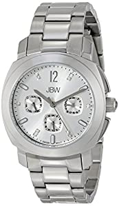 JBW Women's J6298A Marigny Analog Display Swiss Quartz Silver Watch
