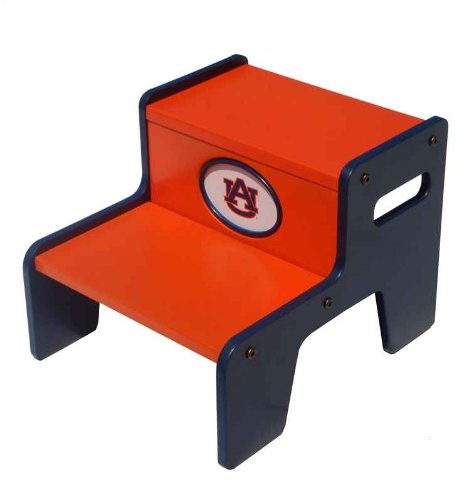Fan Creations Auburn Tigers Two Step Stool at Amazon.com
