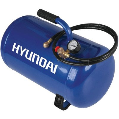 Hyundai Hht5Gat Air Inflation Tank With Tire Hose, 5-Gallon