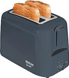 Inalsa Smart 2S 750-Watt 2-Slice Pop-up Toaster (Grey)