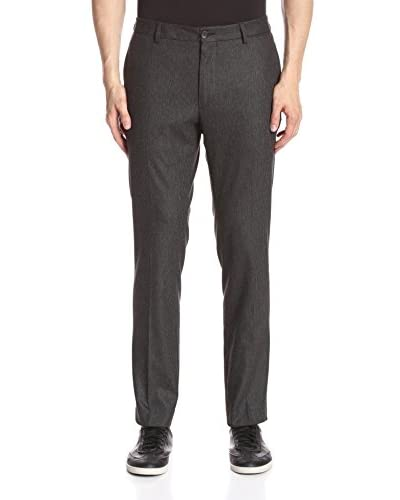 Kenneth Cole New York Men's Stripe Flat-Front Pant