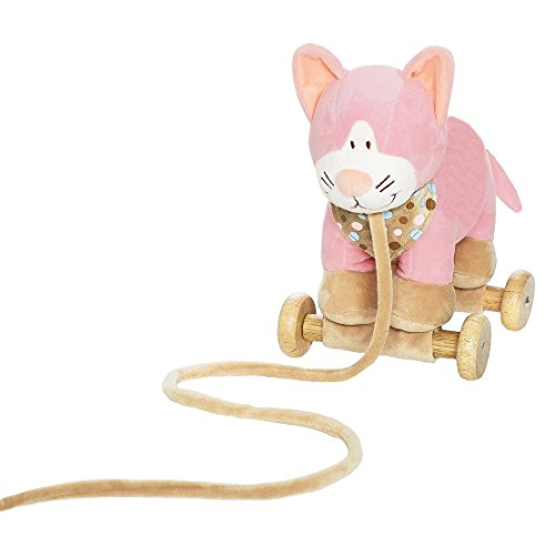 soft-cat-pull-along-on-wooden-wheels-converts-to-cuddly-cat-great-toys-for-toddlers-from-birth-
