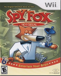 Spy Fox in Dry Cereal - Nintendo Wii