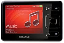 Creative Zen 32 GB Portable Media Player (Black)