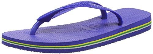 Havaianas Brasil Infradito, Unisex-Adulto, Blu (Marine Blue 2711), 45/46 EU (43/44 BR)