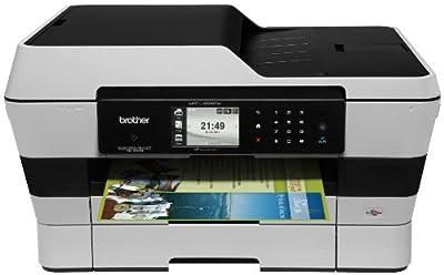 Brother MFCJ6920DW Wireless Multifunction Inkjet Printer with Scanner