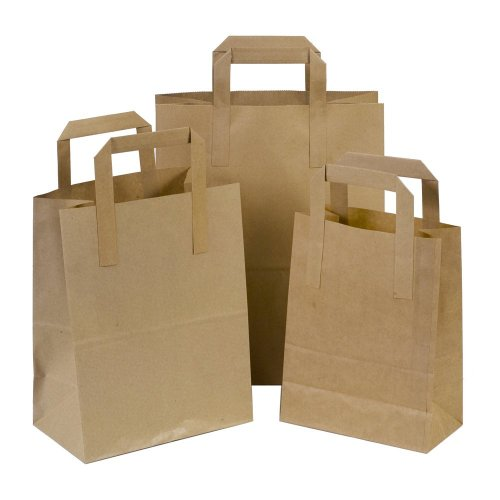the-paper-bag-company-18-x-23-x-9-cm-paper-carrier-bags-with-flat-handles-pack-of-100-brown