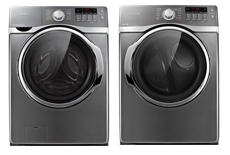 Samsung 3.9 Cu Ft Washer and 7.4 Cu Ft Dryer,