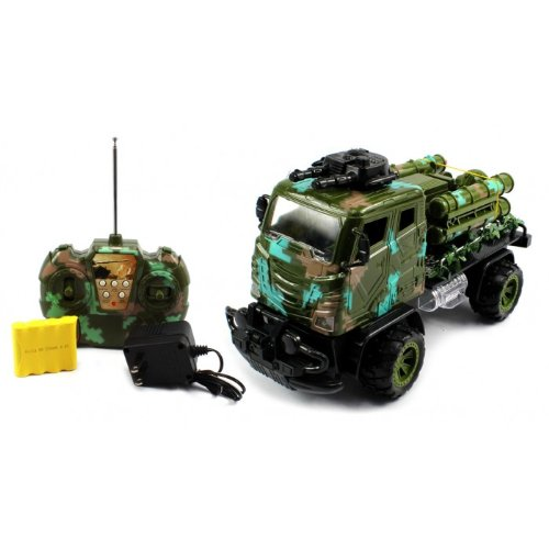 Big Size Electric Full Function Off Road Military Peace Keeping Army Battle RTR RC Truck High Quality Big Size