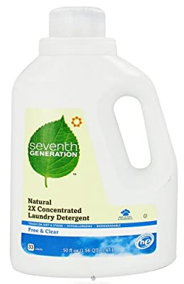 Seventh Generation - 2x Liquid Laundry Detergent Free & Clear