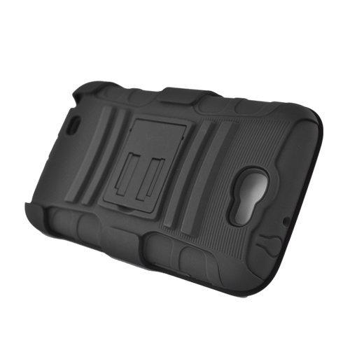 Black Rhino Holster Combo Hard Hybrid Gel Case