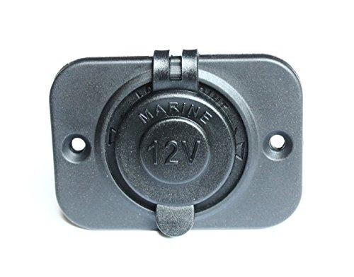 BANDC Waterproof Marine Motorcycle Car Cigarette Lighter Socket Power Outlet 12 Volt