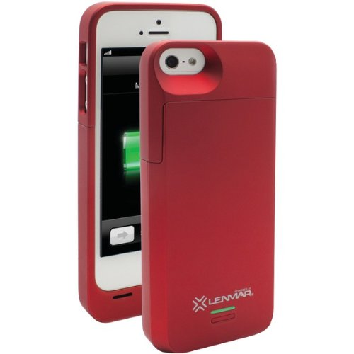 MFI Apple Approved - Lenmar Meridian iPhone 5 Rechargeable Extended Battery Case for iPhone 5 - AT&T Black Friday & Cyber Monday 2014