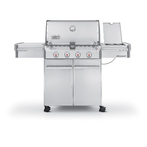 Weber Summit 7120001 S-420 Stainless-Steel 650-Square-Inch