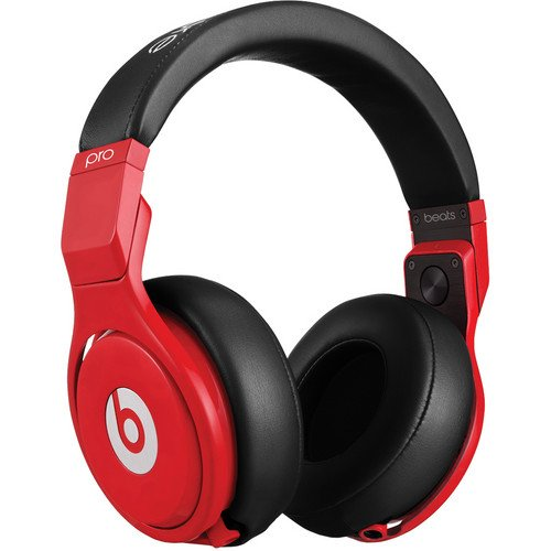 Beats By Dr. Dre Pro Headphones In Red And Black