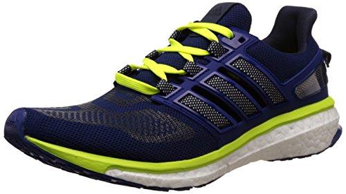 Adidas Energy Boost 3, Scarpe da Corsa Uomo, Multicolore (Uniink/Ftwwht/Syello), 42 EU
