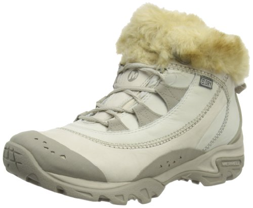 Merrell Womens Snowbound Drift Mid WTPF J48364 Brindle Trekking and Hiking Boots 8 UK, 41 EU