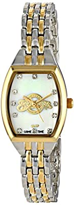 "Game Time Women's MLB-WCL-MIL ""World Class"" Watch - Milwaukee Brewers"