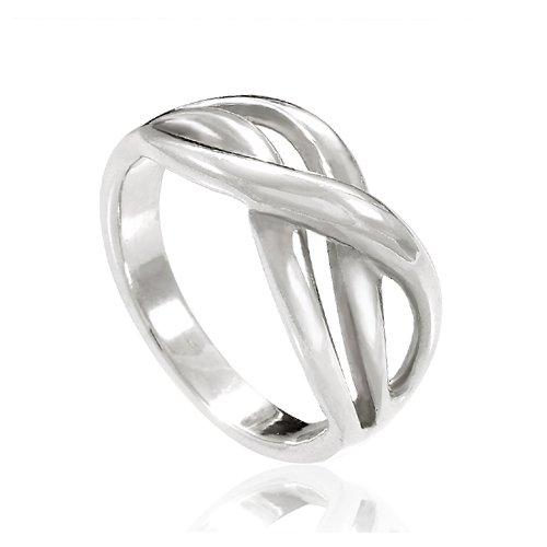 Chuvora-925-Sterling-Silver-Double-Infinity-Ring-Together-Forever-Love-Symbol-Ring-for-Women-Nickel-Free