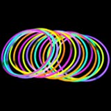 "100 20"" Lumistick Brand Glowstick Necklaces Assorted Colors"