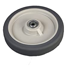 Carlisle IC225WH00 8-Inch Non-Marking Tall Ice Caddy Wheel