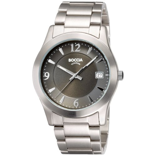 Boccia Men's Titanium Bracelet Watch B3550-02