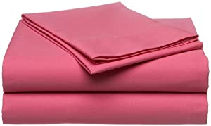 Tommy Hilfiger 200-Thread-Count Solid Sheet Set
