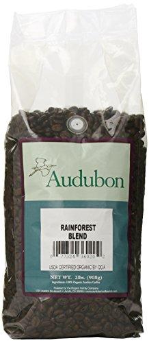 Audubon Whole Bean Coffee, Rainforest Blend, 32 Ounce