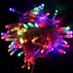 RGB Color 100 Led Light String Christ...