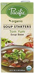 Pacific Foods Organic Tom Yum Soup Starter-32 Oz