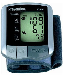 Cheap Mark of Fitness Compact Wrist Blood Pressure Monitor (WS-820)