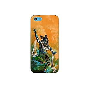 I phone 5c nkt11_R (13) Mobile Case by Mott2 - Lord Shiva - Dancing Taandav