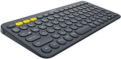 Logicoolロジクール K380 Bluetooth マルチデバイス キーボード (マルチOS: Windows, Mac, iOS, Android, Chrome OS 対応) ブラック K380BK