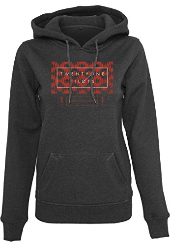 Ladies Twenty One Pilots Judge Stripe Hoody black M