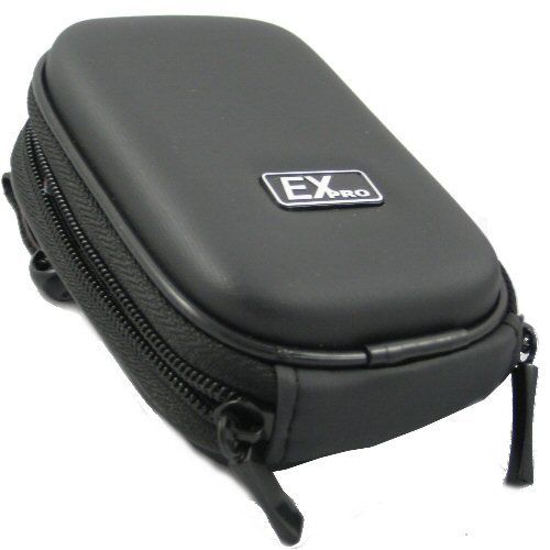 Ex-Pro® Black Hard Clam Shock proof Digital Camera Case Bag CR277G