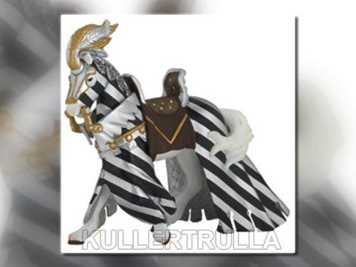 Papo Draped Tournament Horse in Silver