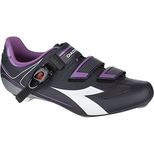 Diadora Trivex Plus II Shoes - Women's Dark Smoke/White/Violet Orchid Iris, 40.0