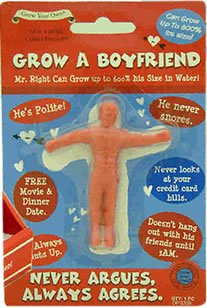 Grow Your Own Boyfriend Birthday Present Funny
