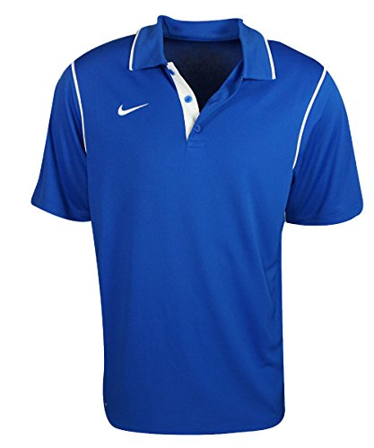 Nike Men's Gung-ho Short Sleeve Training Polo Shirt Blue (X-Large) (Blue Nike Shirt compare prices)