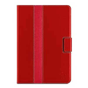Belkin Striped Cover / Case with Stand for iPad mini 3, iPad mini 2 with Retina Display and iPad mini (Red) by Belkin Components