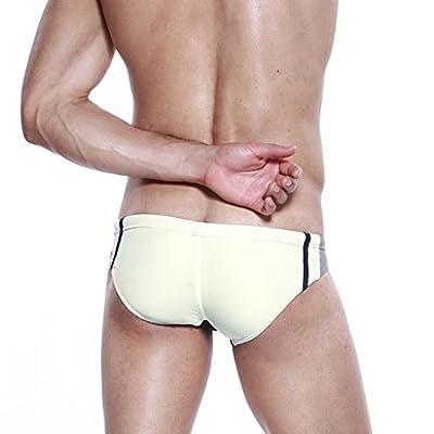 Koson-Man Men's Summer Swimming Lace-up Underwear Swimwear Briefs Trunks Attractive Amazing Swimwear