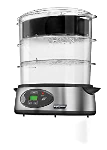 Black & Decker HS1300C Stainless Steel Digital Steamer